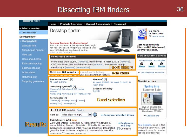 IBM finder dissected